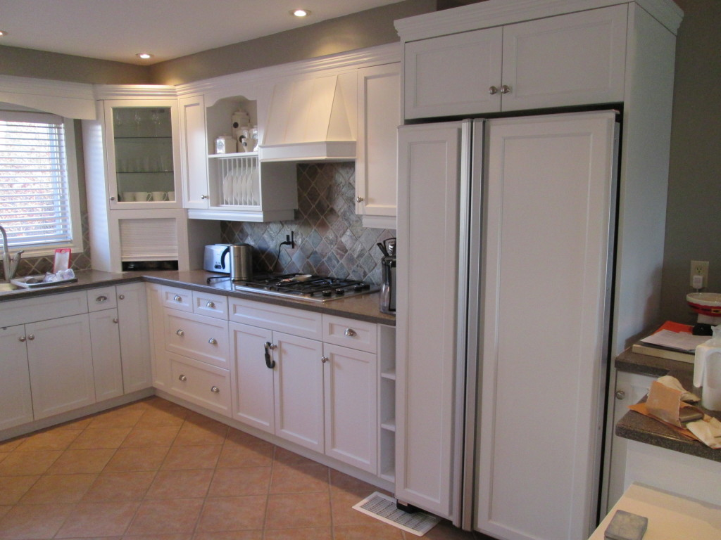 Painting Kitchen Cabinets Cambridge - After