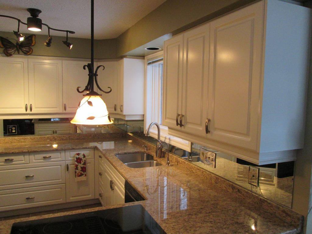 Kitchen Cabinet Repainting Clean State Painting